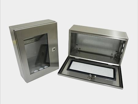 户外不锈钢配电箱图片