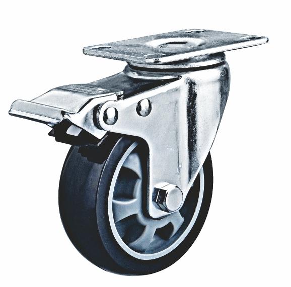 3寸刹车轮