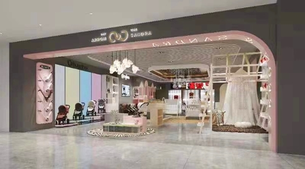 艺辉实力接下146平米店铺展示架定制